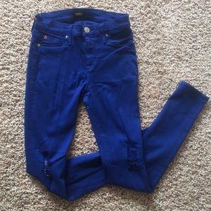 Royal blue Hudson jeans size 26